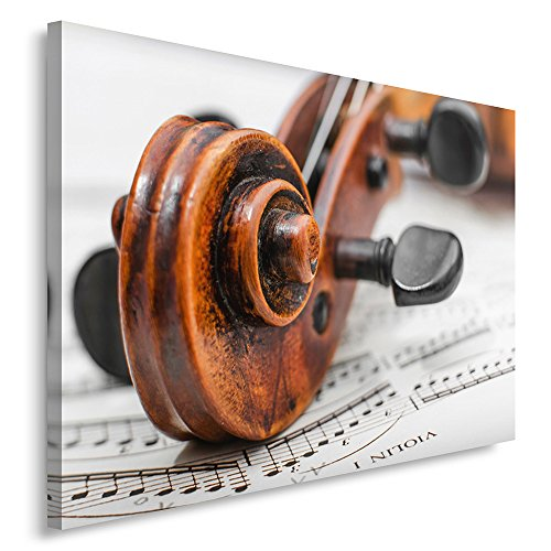 Hauteur 12 cm Bois Vernis Objet de d/écoration Cadeau Musique Livr/é dans Son Coffret avec Support Violon Miniature avec Archet