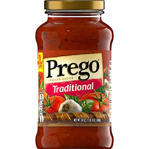 Prego Traditional Italian Sauce, 24 oz. (Pack of 6)