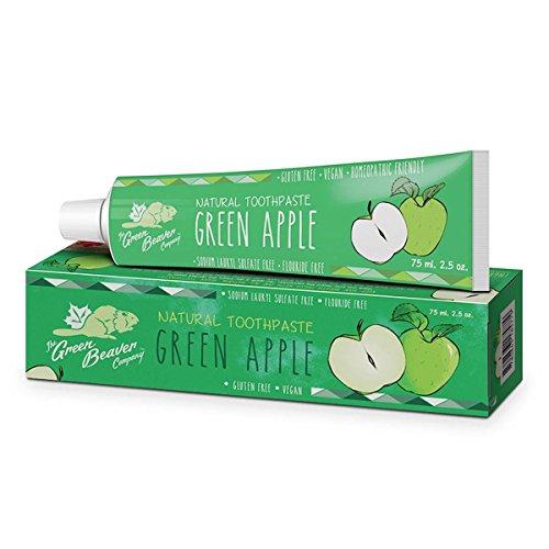 Green Beaver 75ml Green Apple Toothpaste