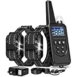 FunniPets Dog Training Collar, 2600ft Range Dog Shock Collar with Remote Waterproof Electronic