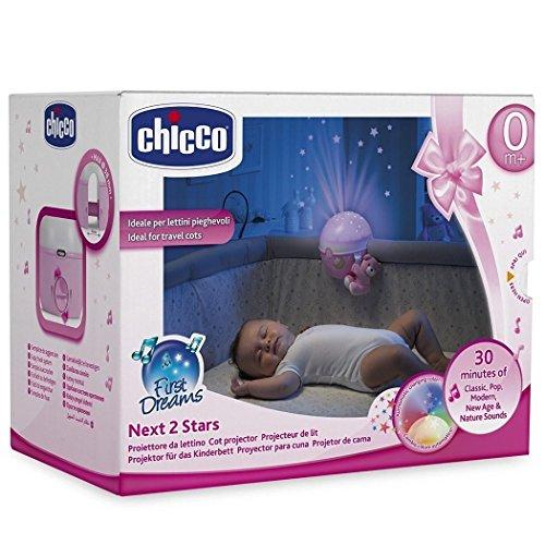 Lampe pour berceau et lit parapluie Chicco Next 2 Stars, livraison rapide