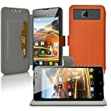 Seluxion Universal Cover Case for the Orange for Archos 50