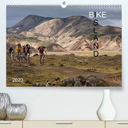BIKE ISLAND (Premium-Kalender 2020 DIN A2 quer): Mountainbike auf Island (Monatskalender, 14 Seiten )