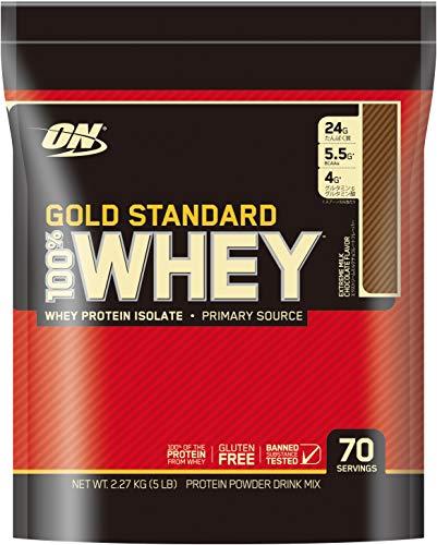 国内正規品 Gold Standard 100% ホエイ エクストリーム ミルクチョコレート 2.27kg 5lb 袋タイプ