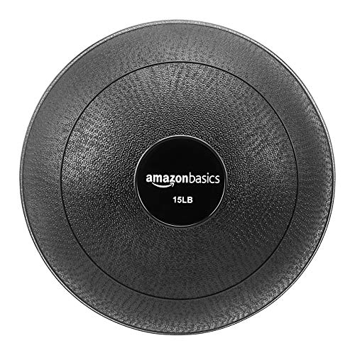 AmazonBasics Slam Ball, Smooth Grip, 6.8 kg