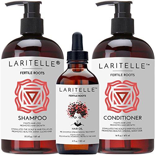 Laritelle Organic Hair Growth Set Fertile Roots