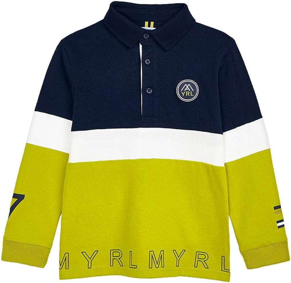 Mayoral Jungen Poloshirt Langarm Longsleeve Baumwolle