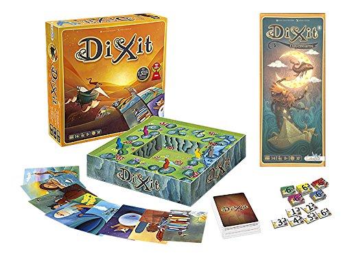 Outletdelocio. Pack Juego de mesa Dixit Clasico + expansion Dixit 5: Daydreams....