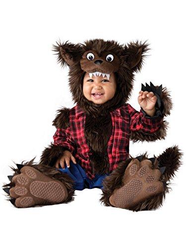 InCharacter Unisex Baby Wee Werewolf Costume - Large - Multi