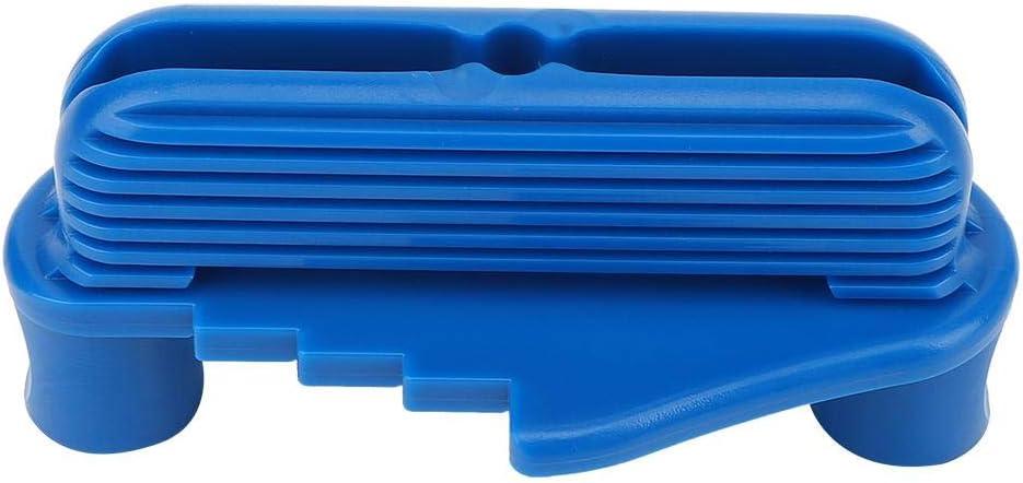 Multifunktions Center Scriber Holzbearbeitungswerkzeug f/ür Konstruktionsmarkierungswerkzeuge Holzbearbeitungsmessger/ät f/ür Standard Holzstifte Blau
