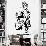 zqyjhkou Dwarf Shield Wandaufkleber Wohnkultur Vinyl Abnehmbare Dekoration Wohnzimmer...