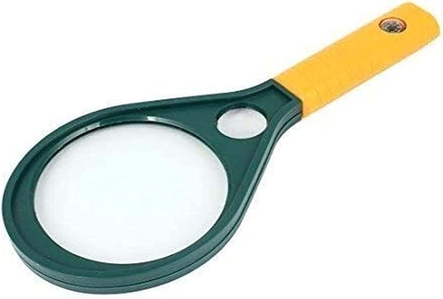 WHZG Magnifying Glass Outlet Spring new work one after another SALE Magnifier Plastic 25 milímetros 90 Handle