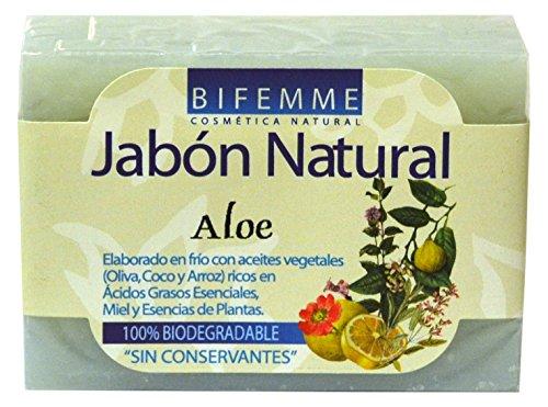 Bifemme Jabón aloe vera - 100 gr - [paquete de 3]