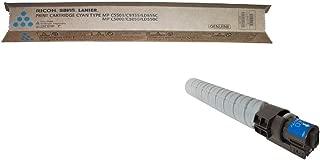 Ricoh 841455 OEM Toner - Aficio MP C4000 MP C4501 MP C5000 MP C5501 Cyan Toner (16000 Yield)