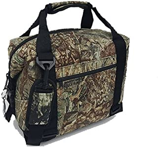 Polar Bear Coolers - Nylon Line - Quality Like No Other from The Brand You Can Trust - See Touch & Feel The Polar Bear Difference - Patent Pending - 24 Pack Duck Blind Camo