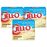 Jell-O Instant Cheesecake Sugar Free Pudding, 1 OZ ( Pack of 3)