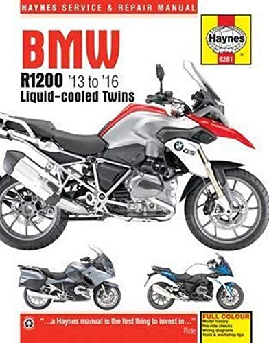 BMW R1200 dohc liquid-cooled Twins (13 - 16) Haynes Repair Manual