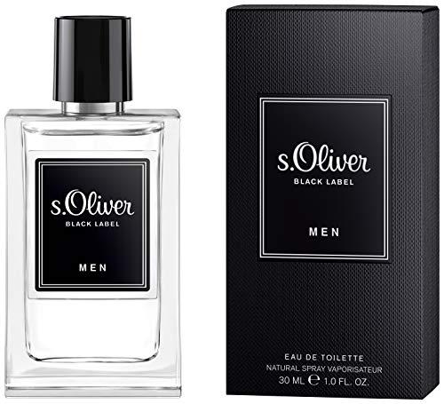 s.Oliver® BLACK LABEL Men I Eau de Toilette - zeitloser & maskuliner Duft - für stilvolle, lässige Männer I 30ml Natural Spray Vaporisateur