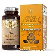 FS Berberin HCL Kapseln [400 mg] | Alles natürlich | mit schwarzem Pfefferextrakt zur besseren Aufnahme | 90 vegane Kapseln | UNTERSTÜTZT DAS system | Ohne GVO, glutenfrei, milchfrei