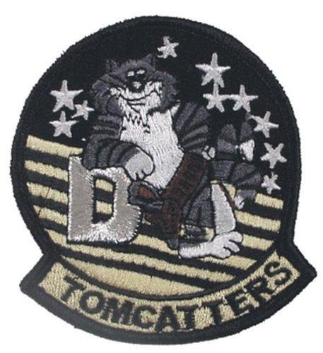 MFH Stickabzeichen VF-31 Tomcatters Aufnäher Truppenabzeichen Stoffabzeichen verschiedene Motive (Motiv 4)