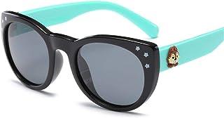 HaoHe - gafas de sol polarizadas para niños 3459 Fashion Polarized Baby Sunshade Color colorido de silicona