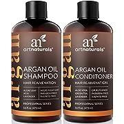 ArtNaturals Shampooing À L'Huile D'Argan Bio ArtNaturals Anti Chute De Cheveux Pour La Repousse Des Cheveux 474 ml - Sans Sulfate