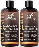 ArtNaturals Marokkanisches Arganöl Haarausfall Shampoo & Conditioner Set – 2 x 473 ml –...