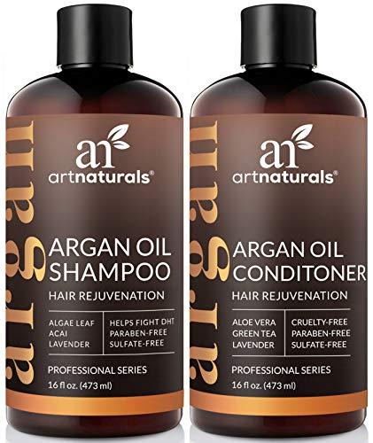 ArtNaturals Argan Hair Growth Shampoo & Conditioner Set- (2 x 16 Fl Oz / 473ml) - Sulfate Free...