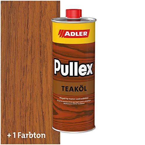 ADLER Pullex Teaköl Holzöl Innen & Außen Farbe Teak Braun 250ml