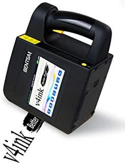 v4ink BENTSAI B80 Wide Format Inkjet Printer, Large-Character Inkjet Printer for Marking on Porous Surface Multicolor Bar ...