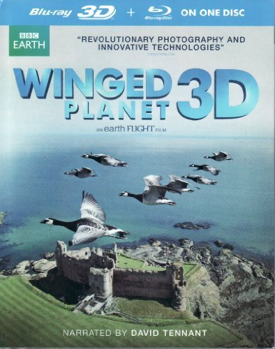 BBC Earth Winged Planet Blu-ray 3D + Blu-ray On One Disc