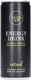 Foods by Ann Apple Energy Drink 250ml, 100% sok jabłkowy, napoje w puszce 1 sztuka (1x 250ml), bez sztucznych dodatków, na...