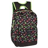 JINX Minecraft Backpack Valigia per bambini 44 centimeters Nero (Black)