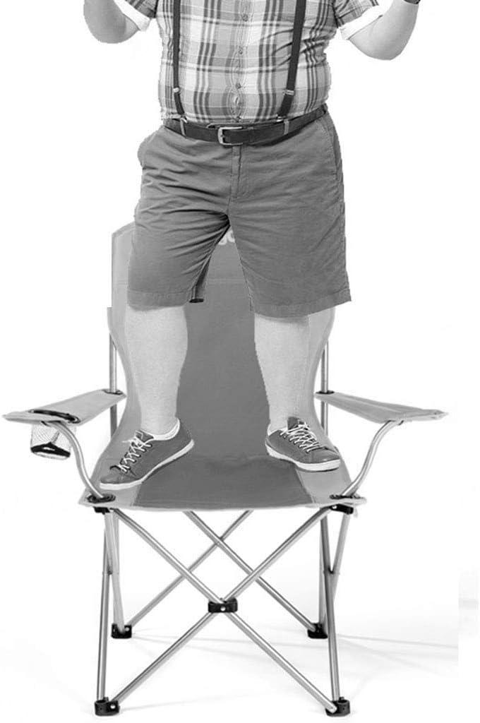 GQQ Chaise de Bureau, Chaise Chaise de Plage Pliante Portative Esquisse Extérieure Chaise de Siesta À La Maison (84 * 50 * 96Cm) Chaise Pliante,Bleu Vert