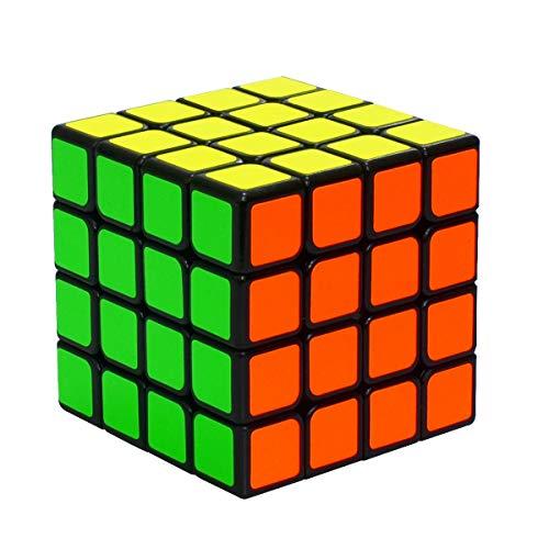Coolzon Zauberwürfel 4x4x4 Speed Cube, 4x4 Magic Cube für Kinder Jugendlichen mit PVC Aufkleber