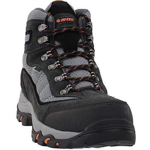 HI-TEC Mens 5.5 Inch Skamania Mid Waterproof Casual Boots, Grey, 12