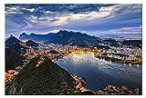 Leinwand-Bild auf Leinwand Rio de Janeiro Zuckerhut