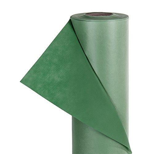 HaGa® Gartenvlies Unkrautvlies UV-Stabil 80g/m² 1,6m Breite grün (Meterware)
