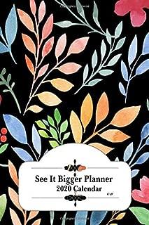 See It Bigger Planner 2020 Calendar 6