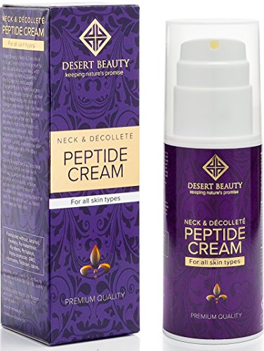 Neck Firming Cream, Anti Aging Moisturizer for Neck & Décolleté (3.38 oz / 100ml Large Bottle) |...