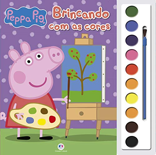 Peppa Pig - Brincando com as cores