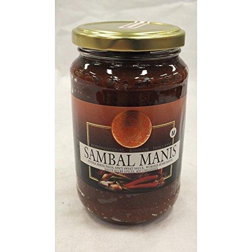 [ 375g ] KONINGSVOGEL Sambal Manis / würzige süße Sauce / Spicy Sweet Sauce