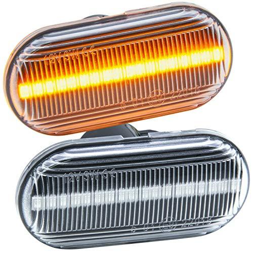 rm-style LED SEITENBLINKER KLARGLAS [71013]