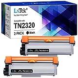 LxTek Compatible Reemplazo para Brother TN2320 TN2310 Cartuchos de tóner para Brother MFC-L2700DN MFC-L2700DW MFC-L2720DW MFC-L2740DW DCP-L2500D DCP-L2520DW DCP-L2540DN DCP-L2560DW HL-L2300D L2360DN