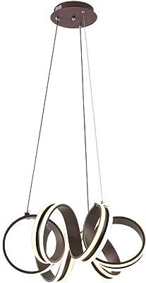 Westinghouse Lámpara de Techo Colgante de 3 Luces, Acero ...