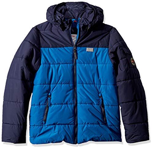 Lego Wear Jungen Lego Boy LWJORDAN 710-Winterjacke Jacke, Blau (Blue 553), (Herstellergröße:158)