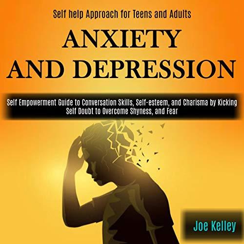 Diseño de la portada del título Anxiety and Depression