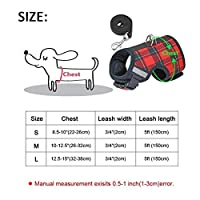 MXFZ 通気性の小型犬用ハーネスナイロンペット子犬ハーネスリーシュソフト犬猫ベスト (Color : 11, Size : S)