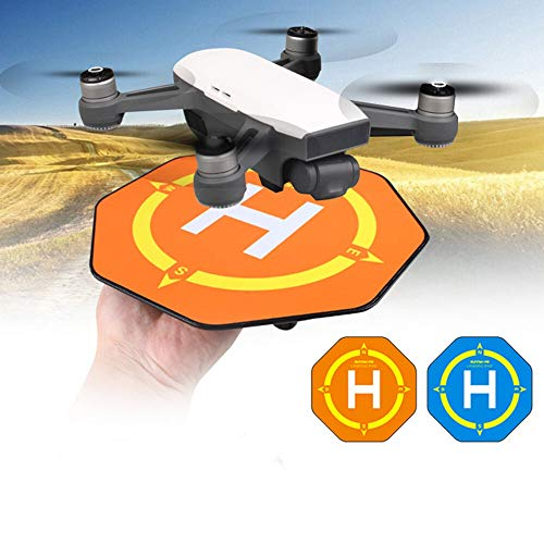 XUSUYUNCHUANG 6.6 Inch Landing Pad Heliport gebied Mini Parking schort for DJI SPARK drone Accessoires (Bundle : Blue)
