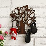 Dimensions (Wxdxh) In Cms:- 19 Cm X 0.40 Cm X 17.78 Cm Package Contains: 1 Unit Of JaipurCrafts Wooden Key Holder, Material: Wooden, Color: Brown Best For Home Decor by JaipurCrafts Ideal For Gifting Purposes It is real trouble when you lose your key...